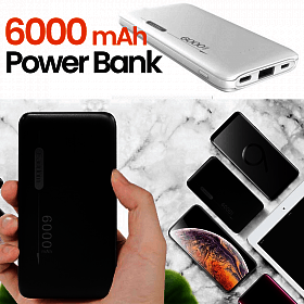 Eardom 6000mAh PowerBank
