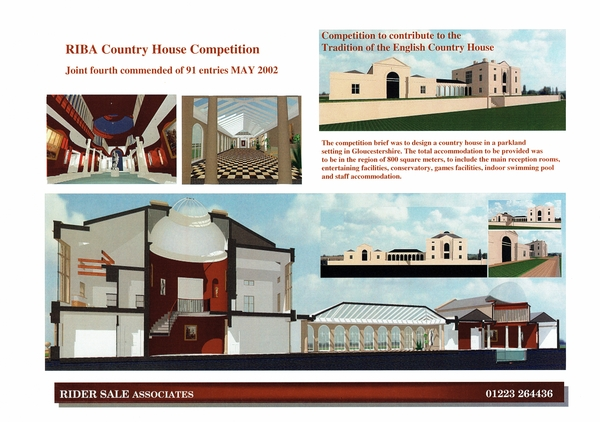 RIBA Country House Competition
