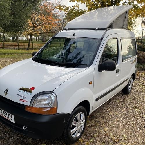 Drivelodge JOEY 1999(T)reg Renault Kangoo 1.9 DCi Micro Camper Van 2 Berth 75334 miles