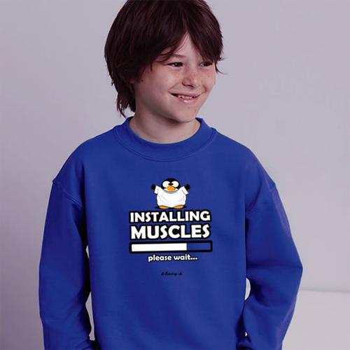 'Installing Muscles' Sweatshirt
