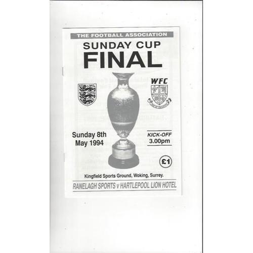 Other Cups inc's Finals & Semi Finals