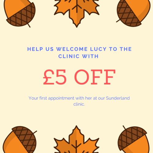 £5 off with Lucy from LK Complementary Therapies