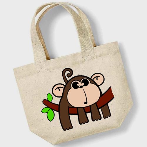 'New Monkey' Mini Tote