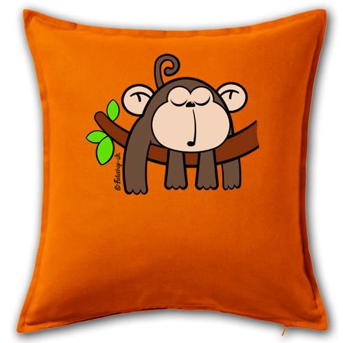 'Sleepy Monkey' Cushion