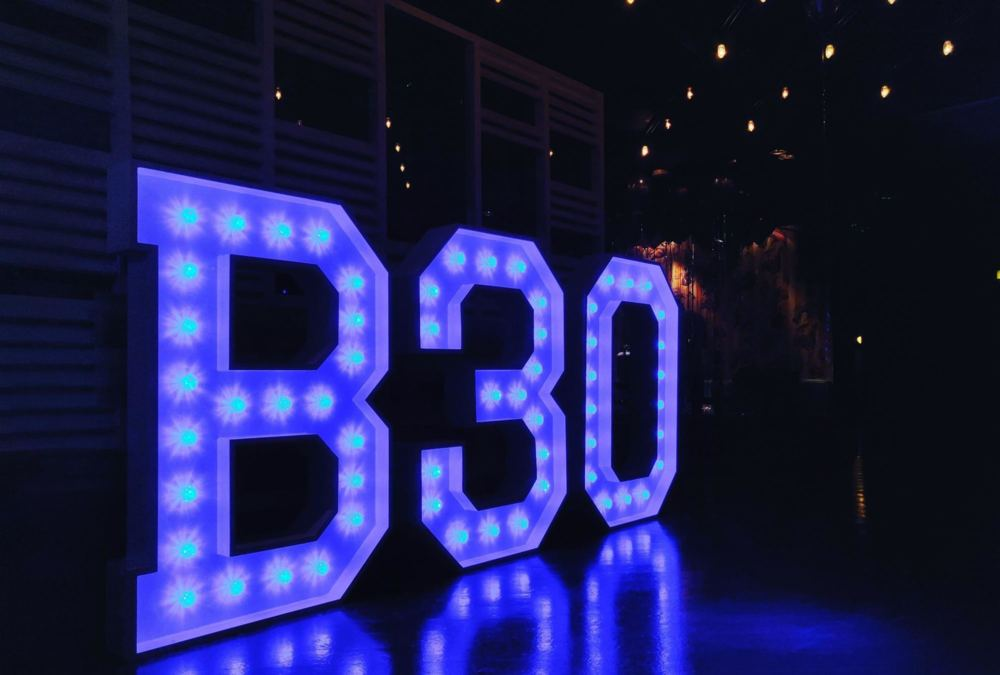 Light Up Letters And Numbers Hire