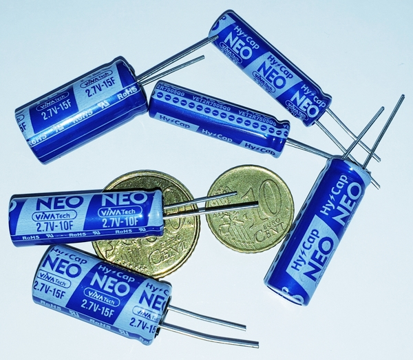 *VINATech have launched a new ground breaking range of 85 Degree C EDLC Super capacitors*