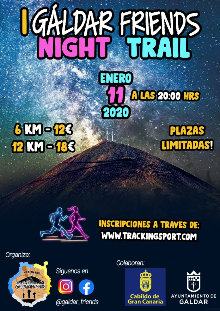 I Gáldar Friends Night Trail