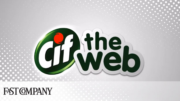 Cleaning Brand Cif Aims To Disinfect The Filthy Internet For Your Kids