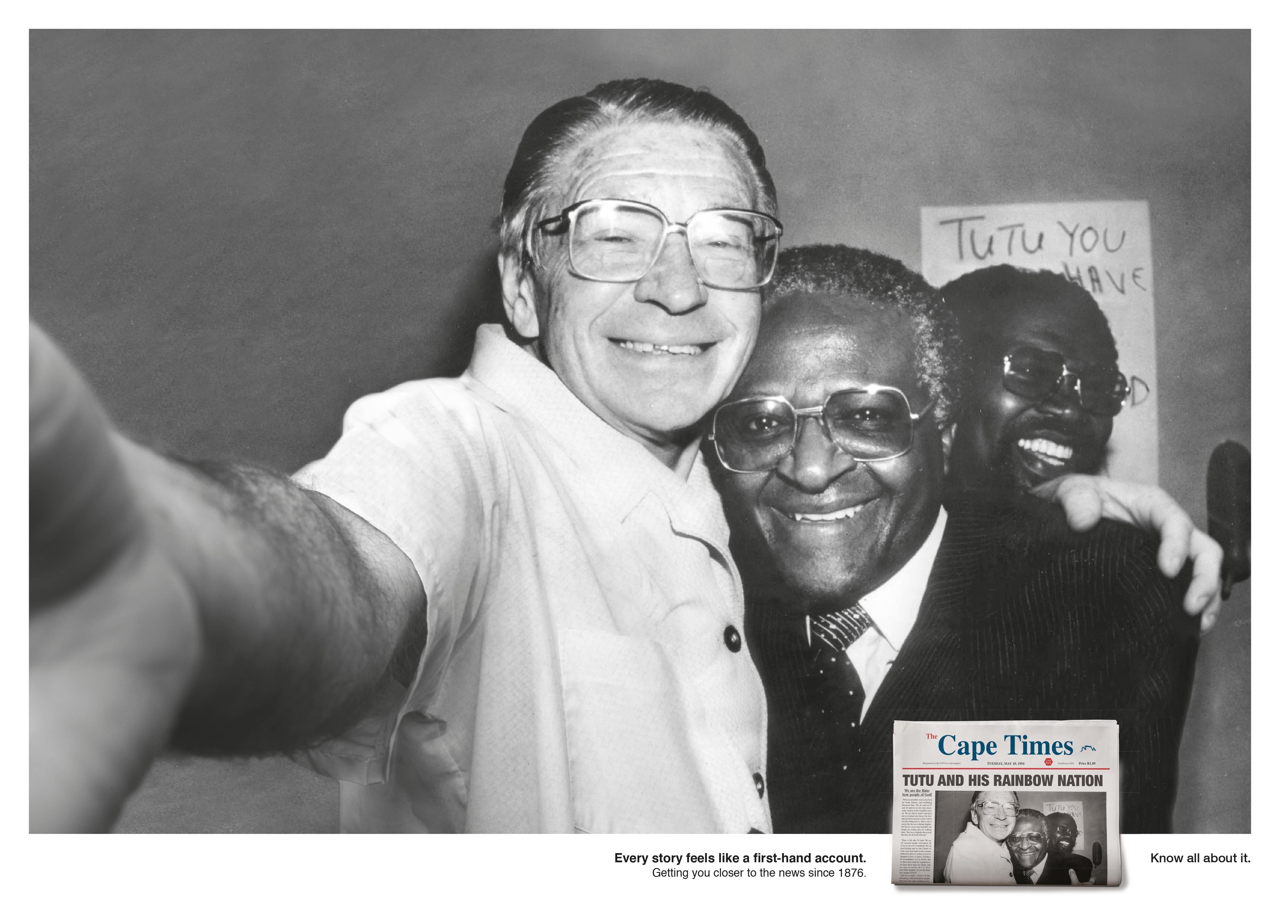 Cape Times - Selfies, Desmond