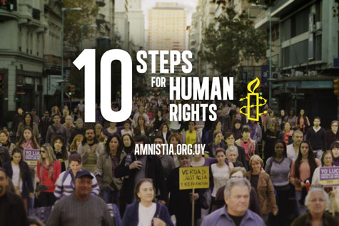 Lowe Ginkgo Uruguay Creates Digital 'Ten Steps For Human Rights' Virtual Demonstration for Amnesty International