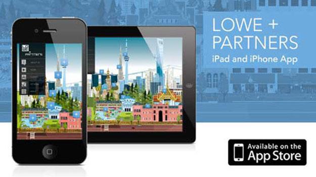 Gaku Nakagawa's Illustrations Provide Creative Inspiration for Lowe and Partners new App