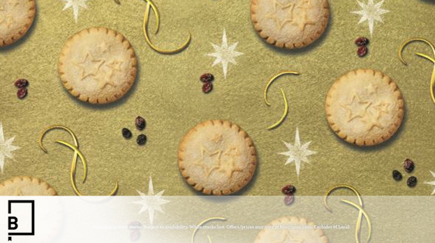 Morrisons Wraps Up Christmas with Print Campaign/Wrapping Paper Combo
