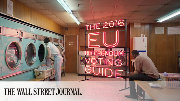 MullenLowe London Using Mild Humor to Ramp Up Referendum Turnout