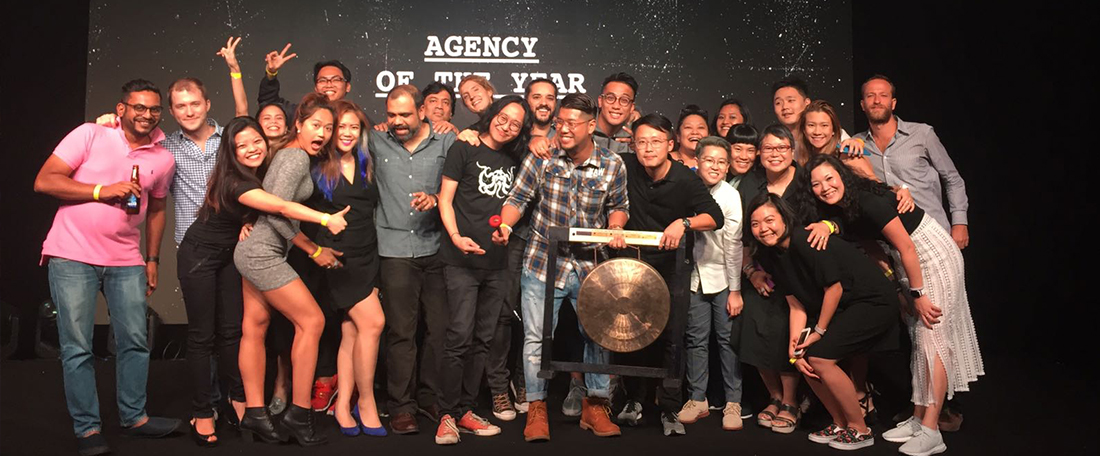 MullenLowe Singapore is Agency of the Year at Gongs Festival 2016