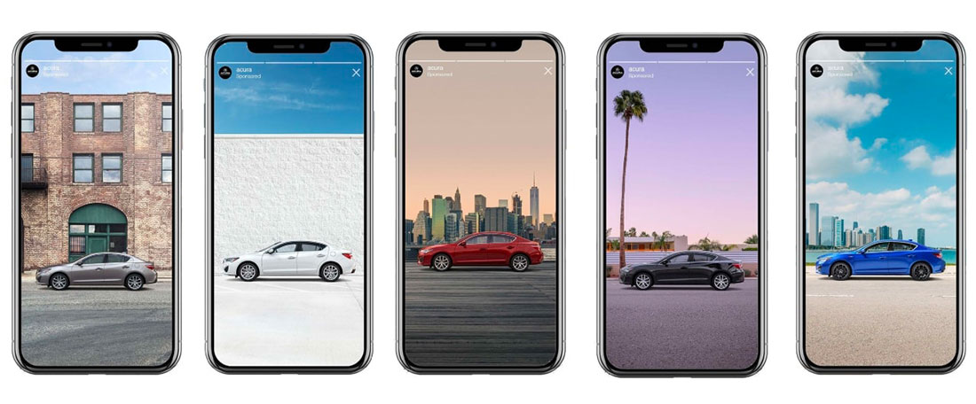 Car Shoppers Can Customize an Acura 2019 ILX Via Instagram Stories