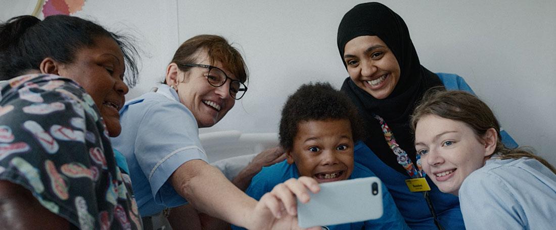 Using Real Nurses To Recruit Carers