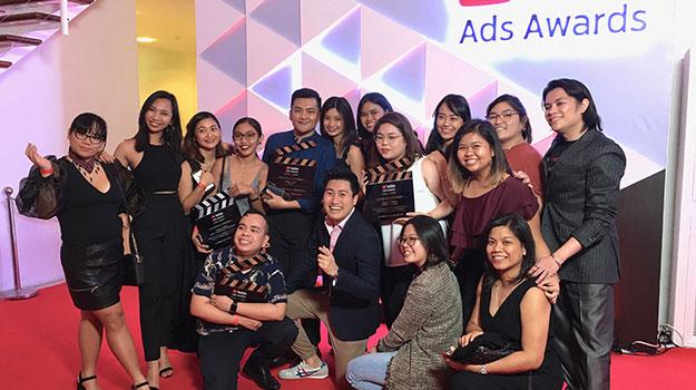 YouTube Ads Awards Win