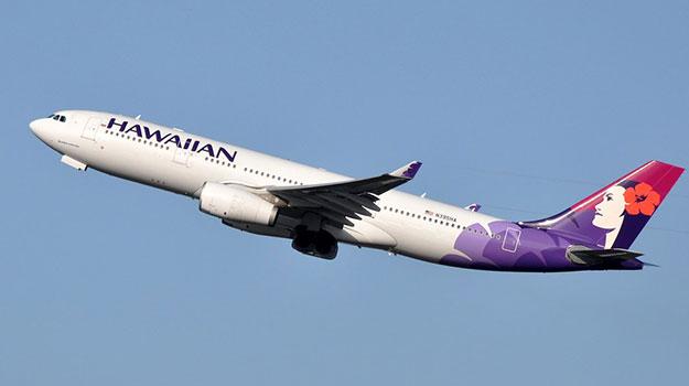 Hawaiian Airlines Says 'Aloha'
