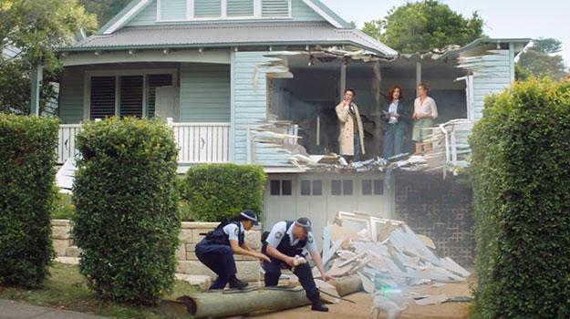 Lightsaber Wielding Pooch Obliterates House