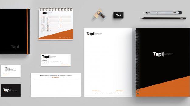 Identità di marca per Tapì Group