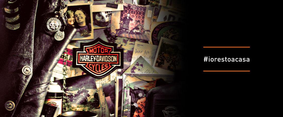 Harley-Davidson #iorestoacasa
