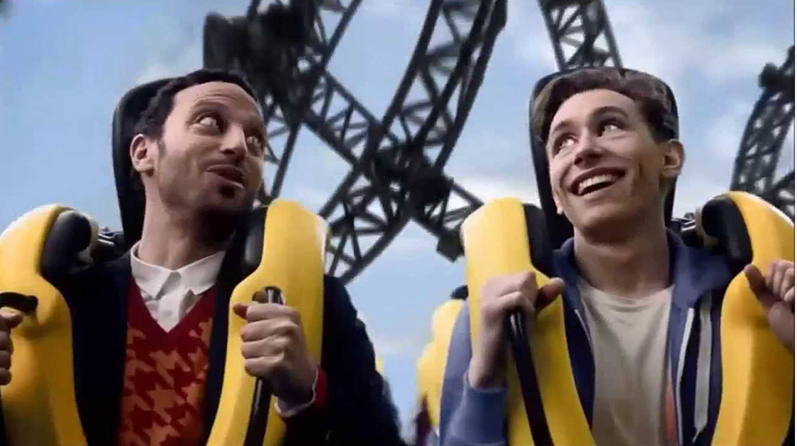 DLKW creates new TV commercial for the launch of 'The Smiler' at Alton Towers
