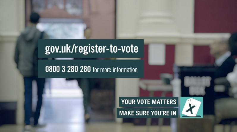 The Electoral Commission launch national campaign ahead of the General Election