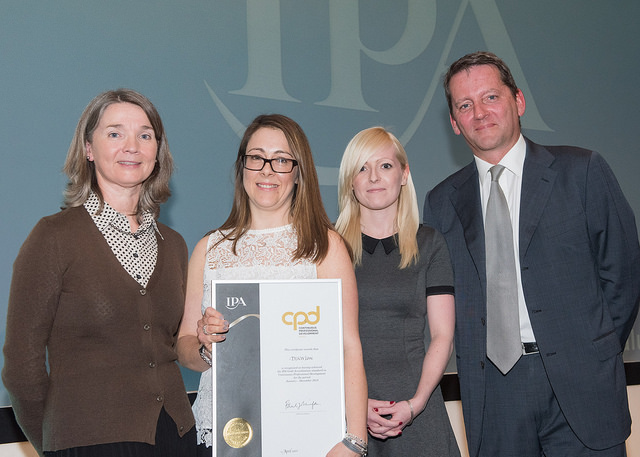 DLKW Lowe takes home the CPD Gold Award at the IPA's inaugural Members' lunch