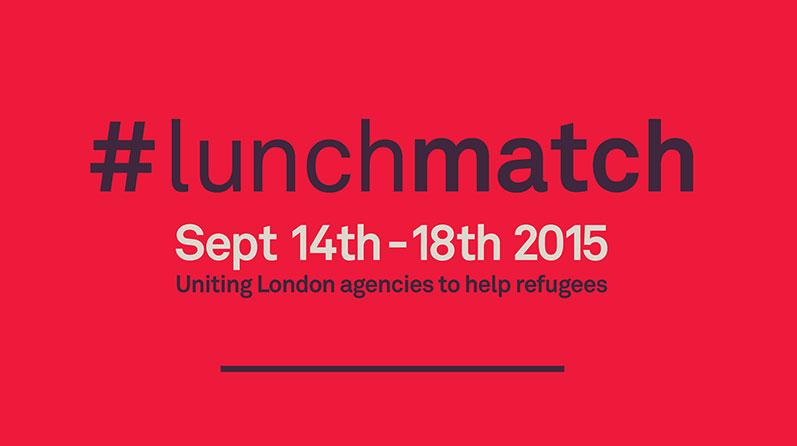 #lunchmatch Week 14-18 Sept 2015