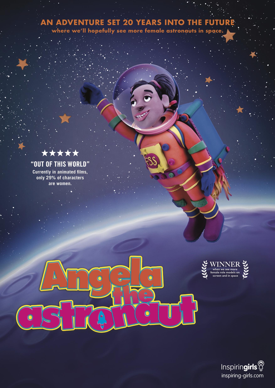 Angela Astronaut - Poster