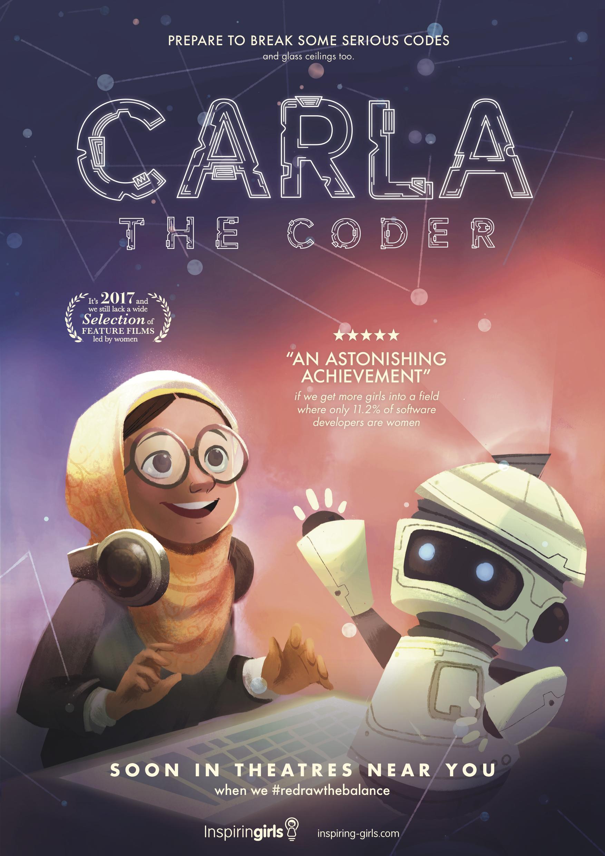 Carla Coder - Poster