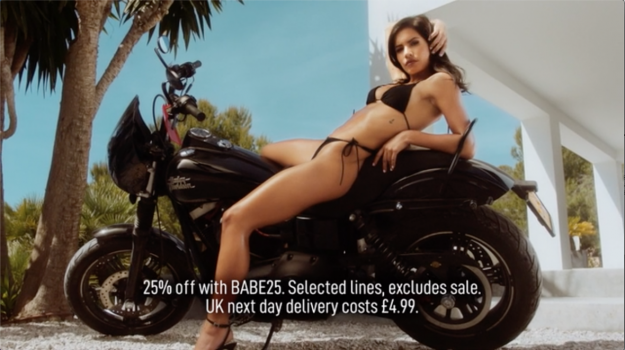 The perils of 'highly sexualised' advertising