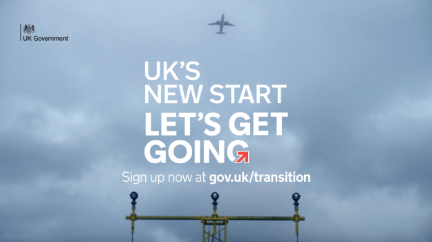 The UK's new start: let's get going