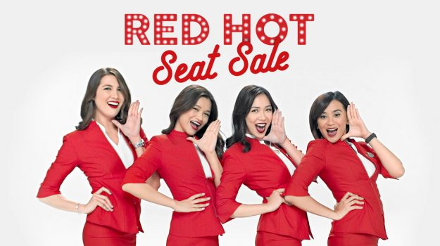 Air Asia Red Hot Seat Sale