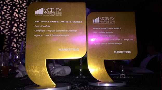 Lowe strikes two golds at MOB-EX Awards 2015