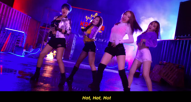 Marrybrown redefines meaning of 'Korean hot chicks' (not the ones in Gangnam)