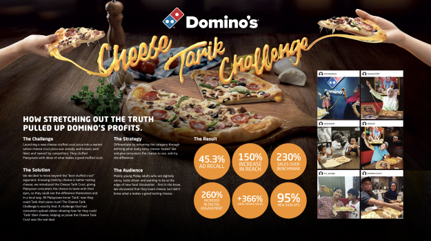 Domino's Cheese Tarik