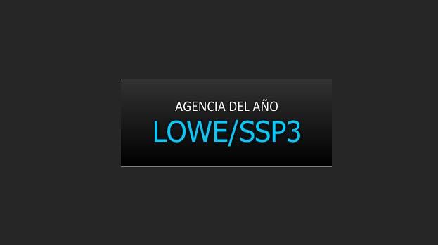 LOWE/SSP3 AGENCIA DEL AÑO 2012