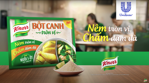 New local seasoning launch from Knorr