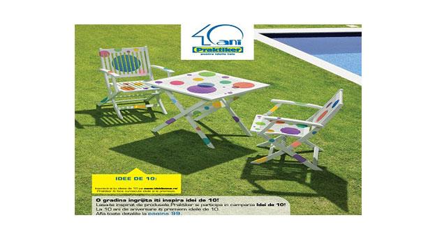 """Launch """"Idei de 10"""" campaign for Praktiker"""