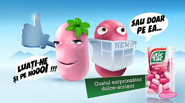 SPOTTED: sweet 'n sour humor – the new campaign developed by Lowe & Partners for TIC TAC