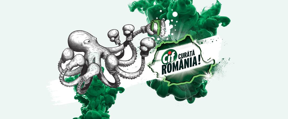CIF cleans Romania, alongside MullenLowe