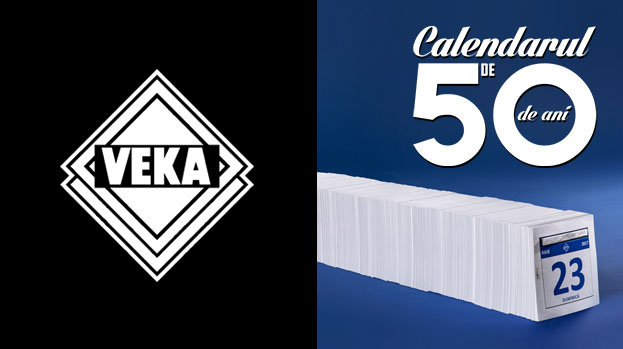The 50-year calendar, the new MullenLowe campaign for VEKA