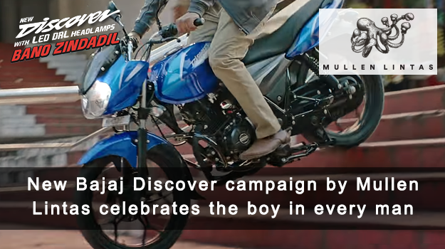 Bajaj Discover and Mullen Lintas celebrate how the boy in every man is always alive