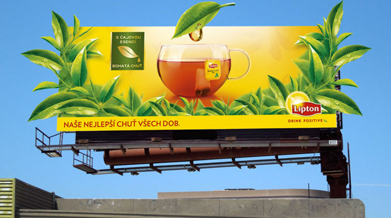 Re-launch of Lipton Yellow Label Tea