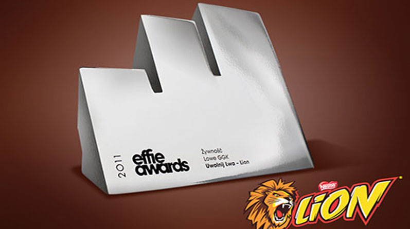 Silver EFFIE 2011 for Lion