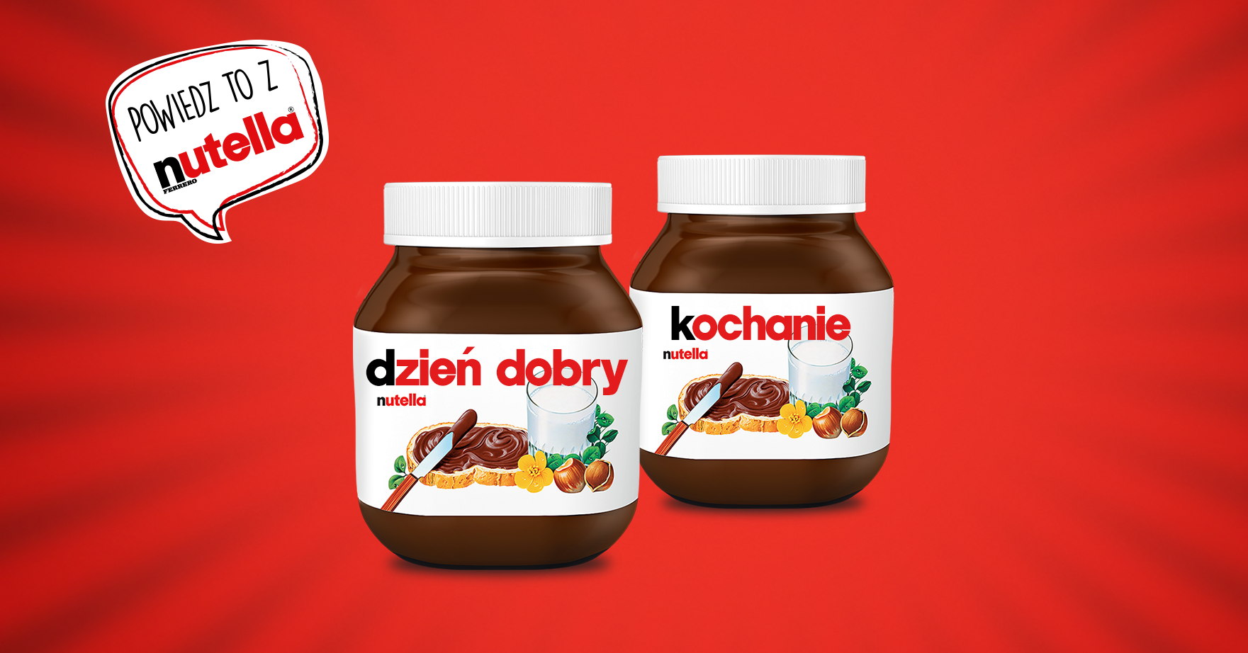 Say it with Nutella®
