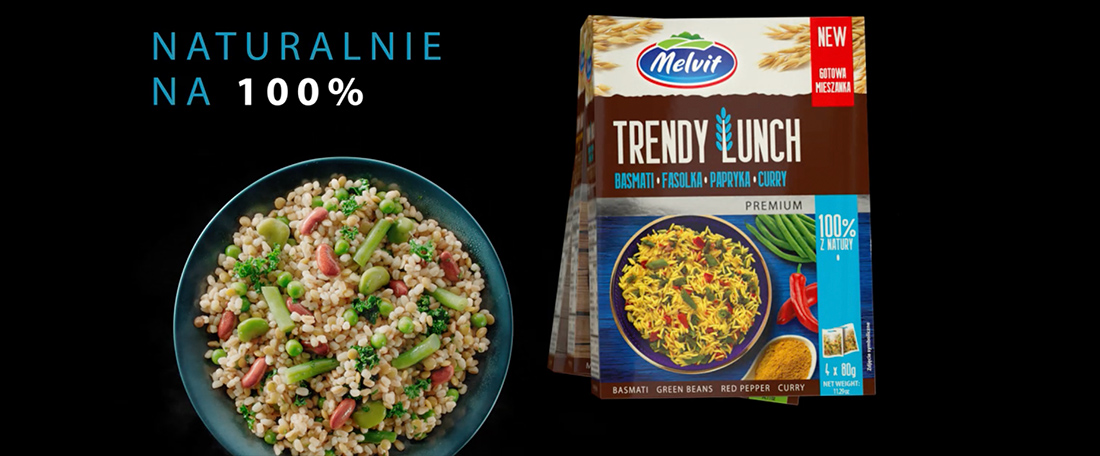 Trendy mix for Trendy Lunch