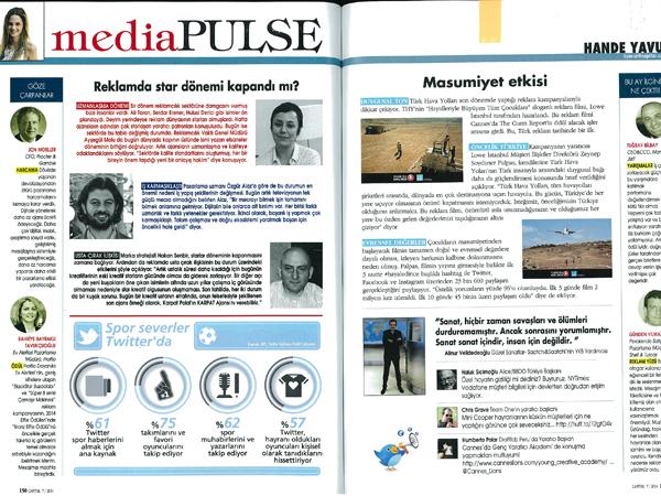 Ela Gökkan Capital magazine