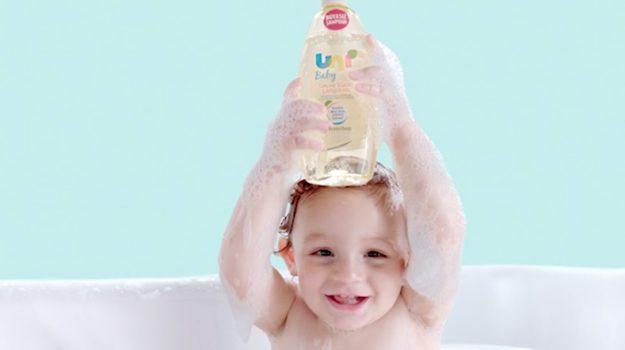 """Uni Baby Boyasız Şampuan """"YOK YOK"""""""